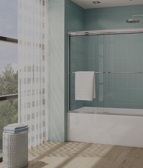 clean shower design in bathroom regina