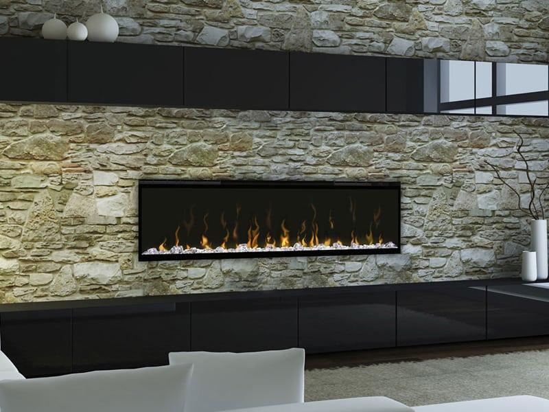 fireplace in a living room in regina