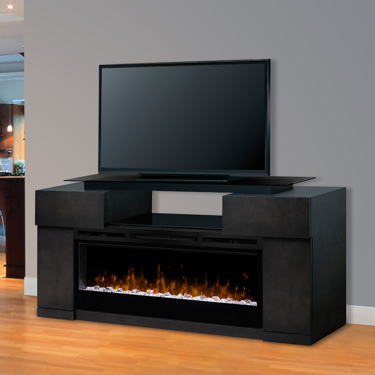 TV stand fireplace in living room Saskatoon and Regina